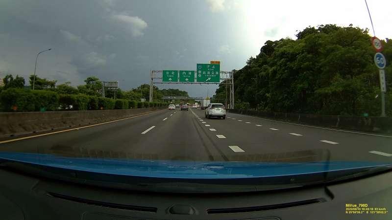 上圖為1080P;下圖為1600P,行車記錄器解析度愈高,影片格放後仍可維持清晰度,有助於事故責任釐清。(圖/車訊網)