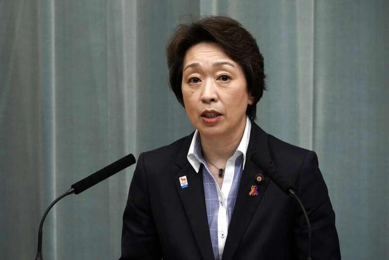 續任東京奧運擔當大臣的橋本聖子。(美聯社)