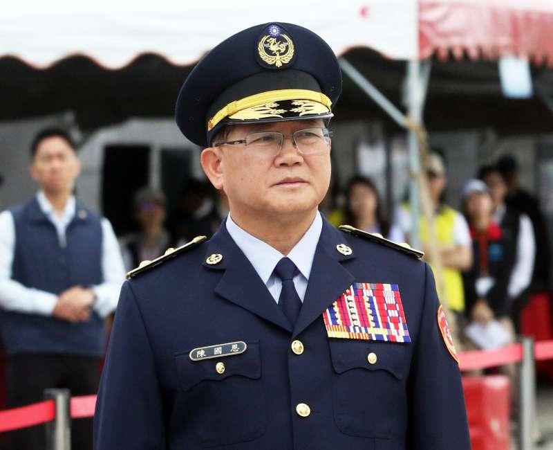 海巡署長陳國恩請辭獲准。(蘇仲泓攝)
