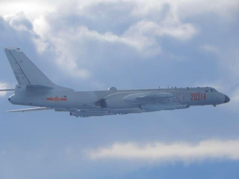 20200918-中共轟六機(空軍司令部提供)