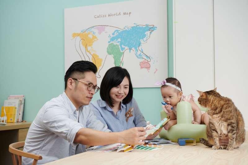 想要用貓咪品牌征服世界的決心,在一家人一同努力之下,一步一步築夢踏實。(圖/阮曼昀提供)