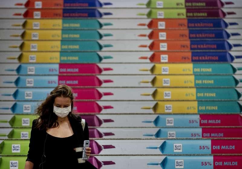 德國。歐洲爆發第二波新冠肺炎疫情。(AP)