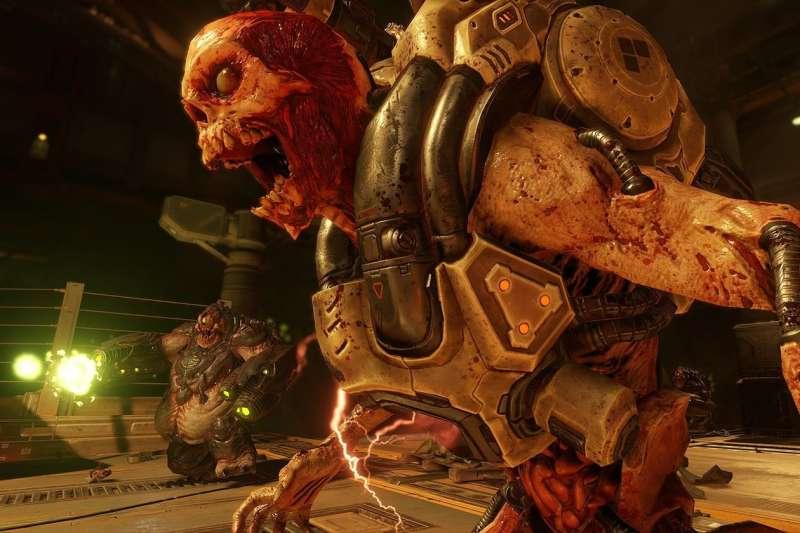 ZeniMax Media旗下知名電玩《毀滅戰士(Doom)》。(圖片來源:BETHESDA SOFTWORKS)