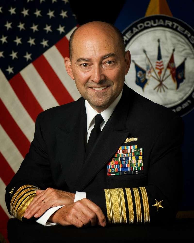 前北約最高指揮官史塔夫瑞迪斯(James Stavridis)。(美國國防部官網)