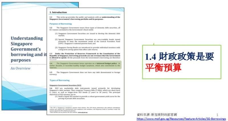 20200923-新加坡將財政政策寫入憲法。(資料來源:新加坡財政部官網)