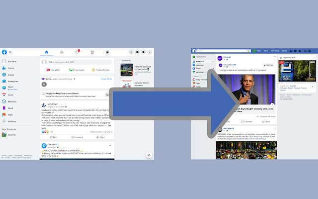 Old Layout for Facebook。(圖/取自chrome 線上應用程式商店)