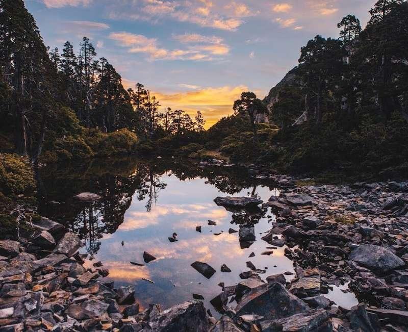 高山湖泊景點推薦-翠池全台最高高山湖。(圖/christina_k0829@Instagram)