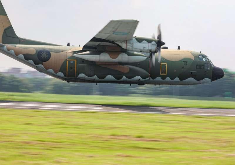 20200923-C-130H運輸機。(取自青年日報)