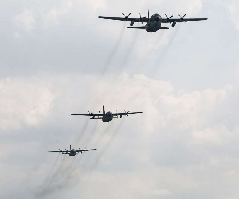 20200923-C-130H運輸機。(取自軍聞社)