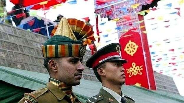 中國和印度自2020年以來在邊境地區爆發多次衝突。(BBC News中文)