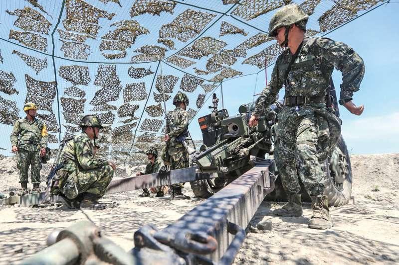 中共拉高武嚇強度,國軍努力提升戰力,也著手改革後備動員制度。(翻攝自Tsai Ing-wen Twitter)