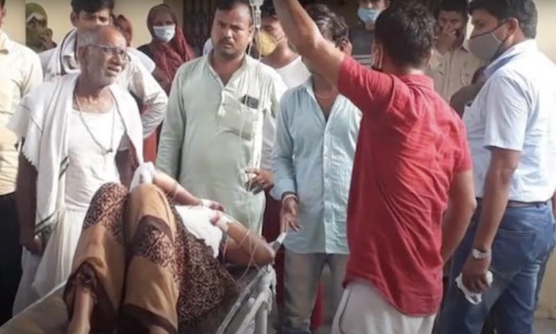 女子目前仍在醫院的加護病房接受治療;肚中的孩子沒能承受巨大傷害,20日撒手人寰,慘死父親手下。(翻攝自海客新聞Youtube)