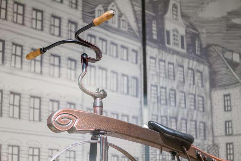 歷史典藏車。(自行車文化探索館提供)
