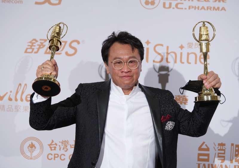20200926-電視金鐘獎頒獎典禮於26日舉行,迷你劇集男主角得獎者游安順。(盧逸峰攝)