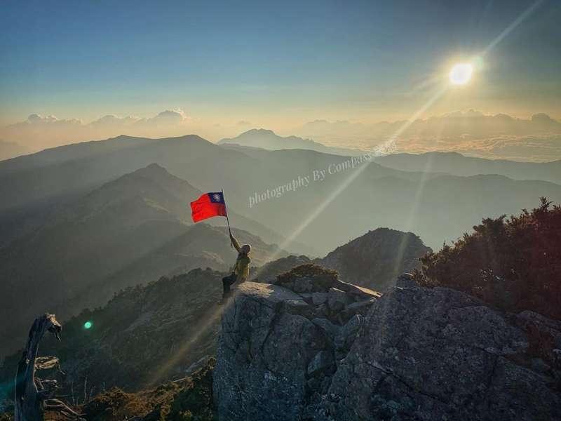 國慶雙十連假登山路線推薦-向陽山。 (圖/airbox119@Instagram)