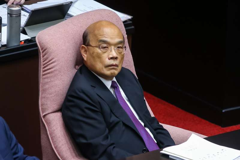 20200929-行政院長蘇貞昌29日出席立院總質詢。(顏麟宇攝)