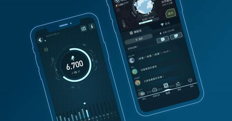 圖三、《Walkr》讓使用者彼此產生更多互動交流,改變大眾對運動APP的認知。(圖/Fourdesire)