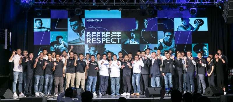 20201001-前立委許毓仁擔任新籃球聯盟的「新竹攻城獅」領隊。(許毓仁提供)