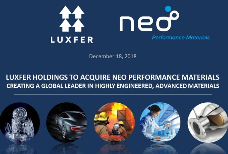 加拿大礦產公司 Neo Performance Materials ULC(來源:官方網站)