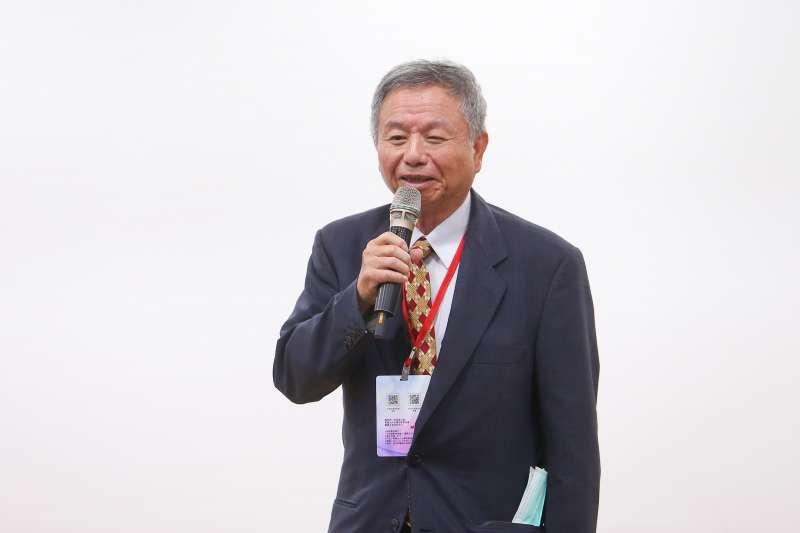 20201010-前衛生署長楊志良10日出席「食品的安與不安:萊克多巴胺的今是昨非與利弊得失」論壇。(顏麟宇攝)
