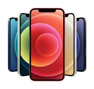 iPhone 12。(美聯社)