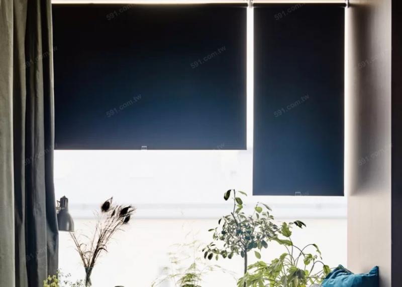 捲簾不易沾塵蟎,易於整理清潔。(圖/IKEA提供,591房屋交易網)