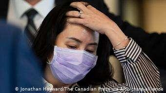 中國駐加拿大大使呼籲加拿大立即釋放孟晚舟。(德國之聲)