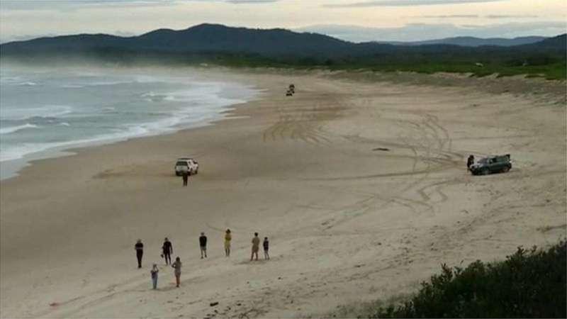 鯊魚攻擊發生地點附近如果沒有醫院,死亡機會更高。(圖/取自BBC)