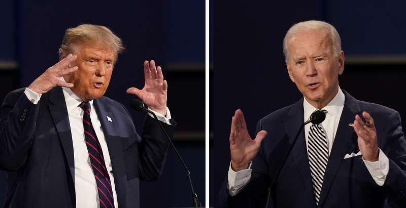 2020年美國總統大選,川普對決拜登(AP)
