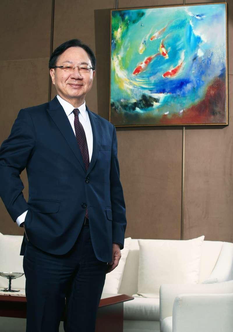 華南銀行總經理張振芳表示,將以「從寬、從簡、從速」三原則,全力推動信託搭配危老都更業務。(華南銀行提供)