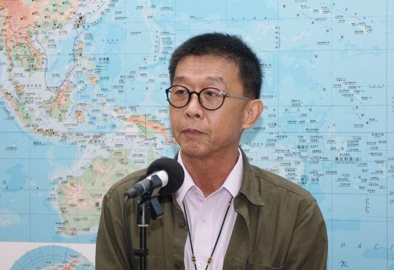 20201019-立委許智傑19日於立院受訪。(盧逸峰攝)