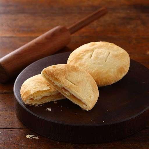 曾獲2010年台中十大伴手禮首獎,將經典商品尺寸縮小成奶油小酥餅,讓追求養生的現代人,也能輕鬆無負擔享受。(圖/裕珍馨)