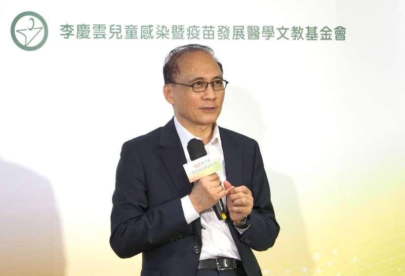 東洋宣布取得德國BioNTech新冠肺炎疫苗的台灣代理權,董座林全表示冷鏈是關鍵。(林瑞慶攝)