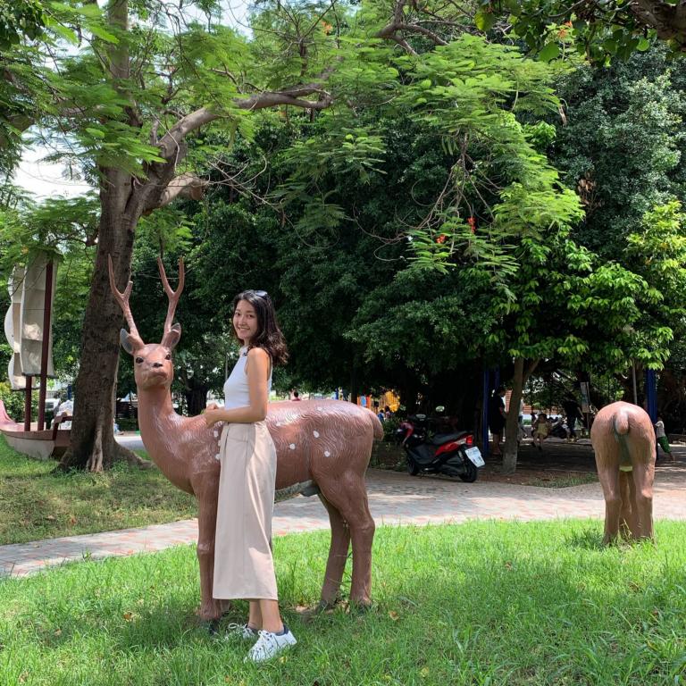 ▲彰化景點-小鹿公園。 (圖/Tripbaa趣吧!自由行專家)