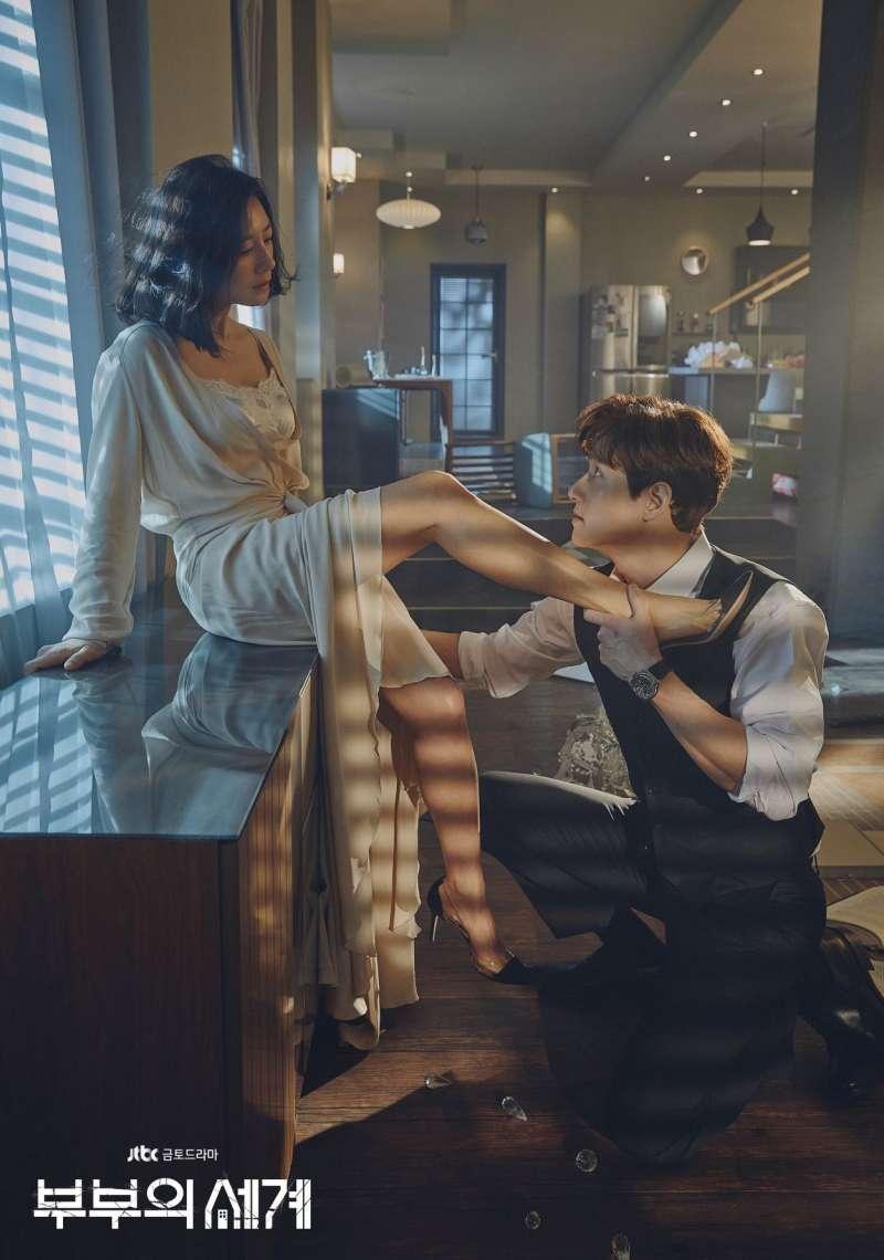 夫妻的世界。(圖/JTBC Drama官網)