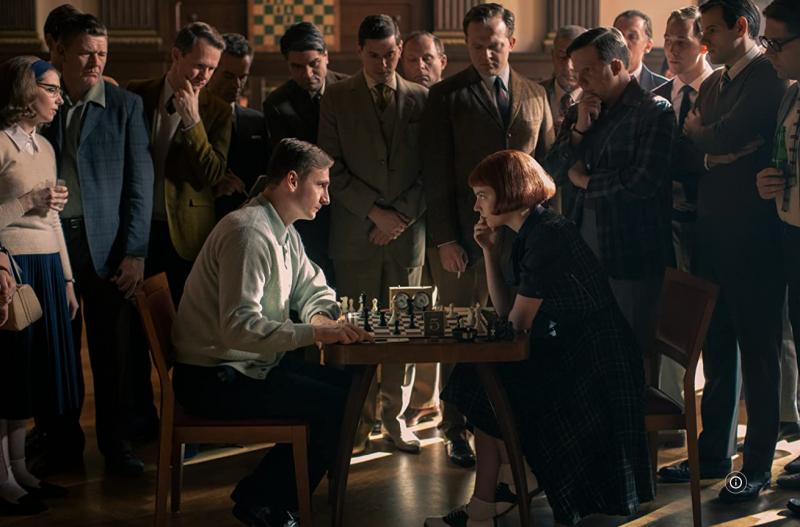 西洋棋天才少女,如何展現真正的女性自主?(圖/取自Imdb)