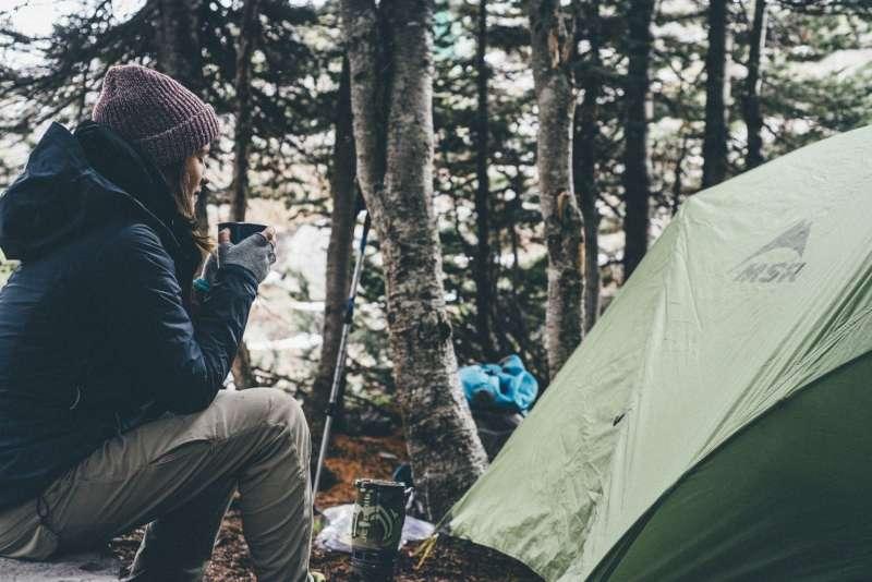 新手登山-登山野營。(圖/Tripbaa趣吧提供)