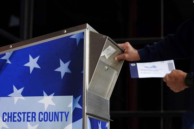 2020美國大選,美國郵政署被控作業疏失,還有上萬張選票沒有送達。(AP)