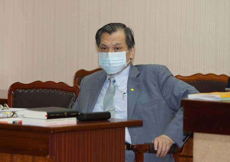 20201109-陸委會主委陳明通9日至立法院備詢。(盧逸峰攝)