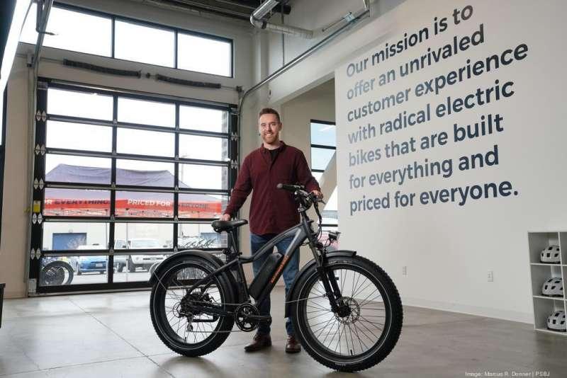 Rad Power Bikes 創辦人 Mike Radenbaugh。(圖/擷取自Biz Journals,創新拿鐵提供)
