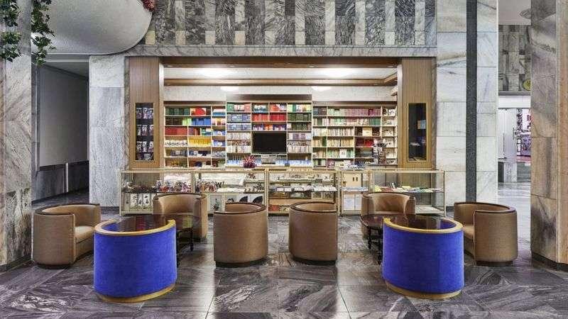 平壤酒店的室內設計(BBC News 中文)