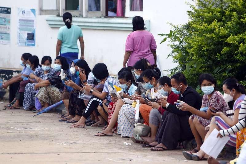 2020年11月,緬甸9日舉行民主化後第二次大選。(AP)