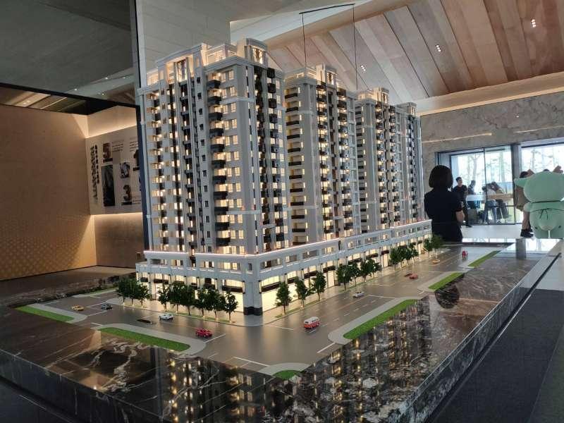 清景麟建築團隊在台南東區熱銷的建案「清景麟巴克禮」。(圖/徐炳文攝)