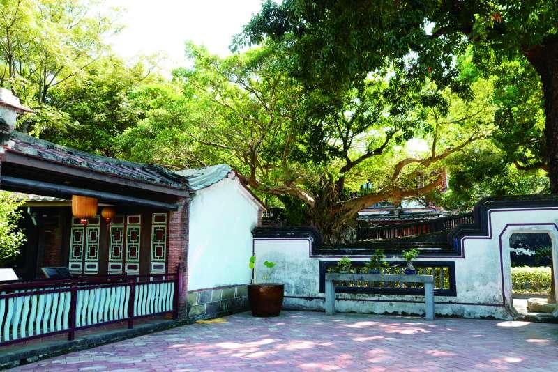 林本源園邸是台灣目前僅存最完整的「園林建築」。(楊雋珩攝)