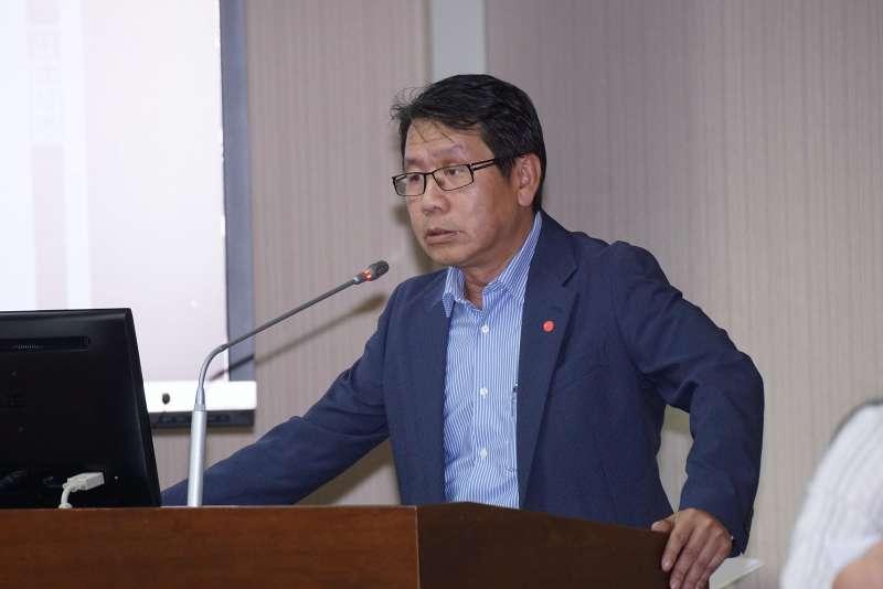 20201116-立委沈發惠16日於內政委員會備詢。(盧逸峰攝)