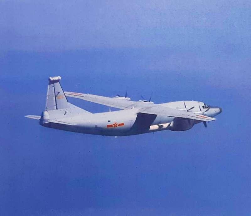 20201118-共機運8遠干機。(空軍司令部提供)