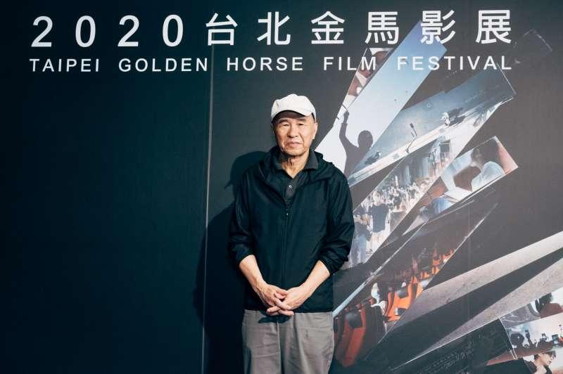 20201118-導演侯孝賢原先傳出身體狀況欠佳,但仍以金馬學院院長身份出席結業式。(金馬執委會提供)