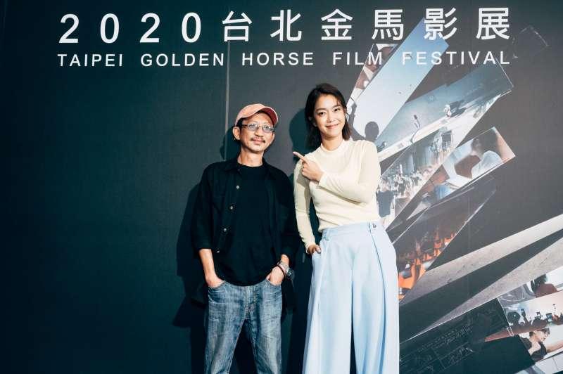 20201118-莊益增(左起)、李霈瑜(大霈)主演金馬學院影片,在劇中飾演一對父女。(金馬執委會提供)