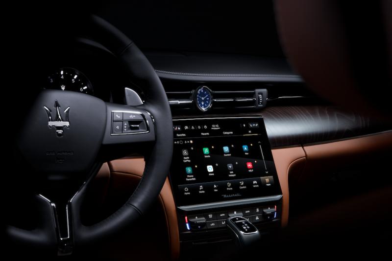 Maserati Intelligent Assistant (MIA) 智能多媒體系統。(圖/業者提供)