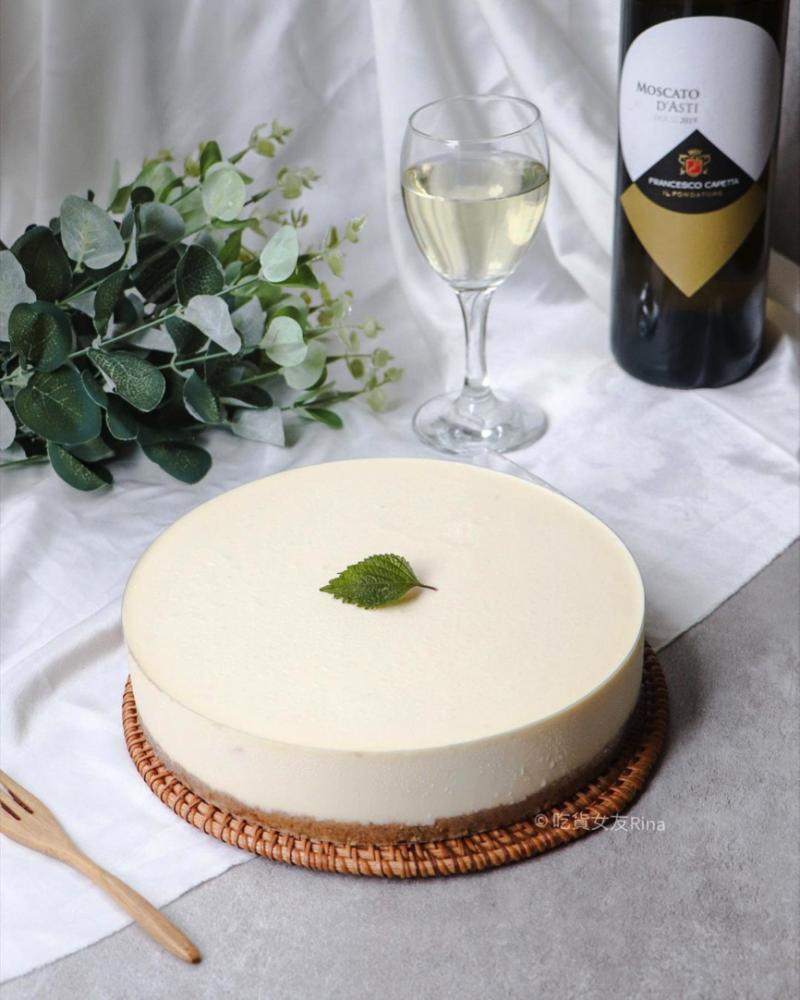 檸檬蘋果生乳酪蛋糕。(圖/rina_food0925@instagram提供)